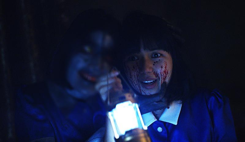 ▲不想被取代的鬼女僕(左)。(圖/海樂)
