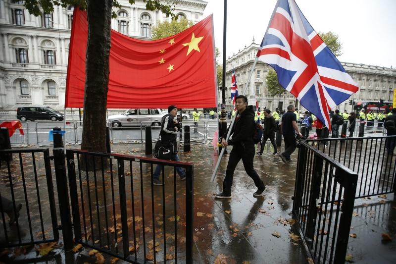 ▲有英國媒體指出,若北京威權擴張路線仍不變,英國政府不排除在 5 年內承認台灣。示意圖。(圖/美聯社/達志影像)