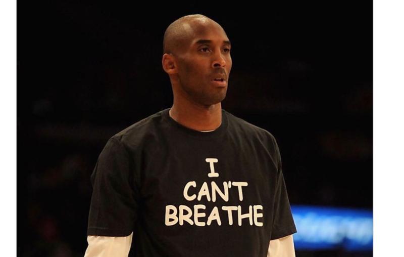 NBA/Kobe<b>遺孀</b>放上「我不能呼吸」照片 力挺黑人抗議