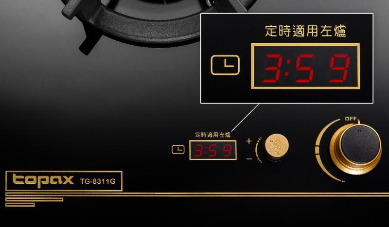 ▲雙控定時檯面爐,簡單易操作,30分鐘自動關火,守護居家安全(圖/資料照片)