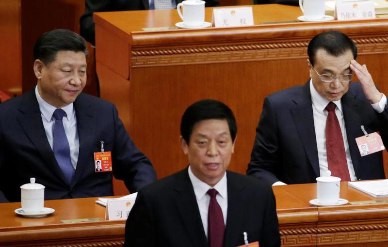 ▲中國國家主席習近平、國務院總理李克強。(圖/翻攝自 RFI)