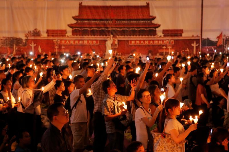 30年首度被禁!香港警方對維園六四晚會發反對通知
