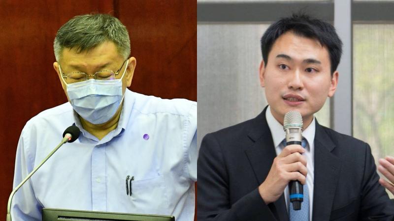 副發言人陳明文之子陳冠廷遭逼辭 柯文哲反酸媒體要檢討