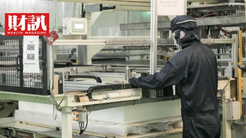 ▲穎台曾在5年內投資25億元拚光學膜研發,如今這筆大投資已看得見成果。(圖/財訊雙週刊)
