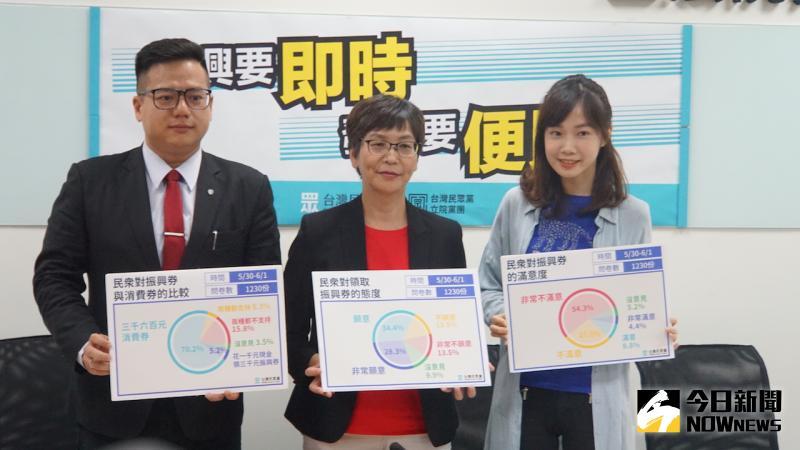 ▲台灣民眾黨舉行「振興要即時