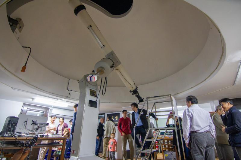 金星接近現纖細金環 清大天文台清晰呈現