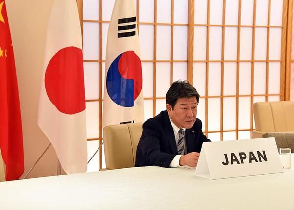 ▲日本外交部長茂木敏充。(圖/翻攝自茂木敏充臉書)
