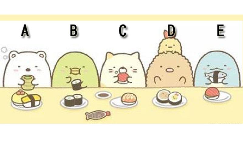 日本超夯心測!覺得誰最貪吃?測你的「推理直覺」有多準