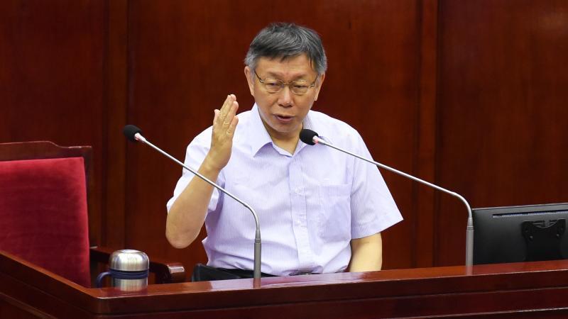 六四事件31週年 柯文哲:終究中國還是要朝向民主自由