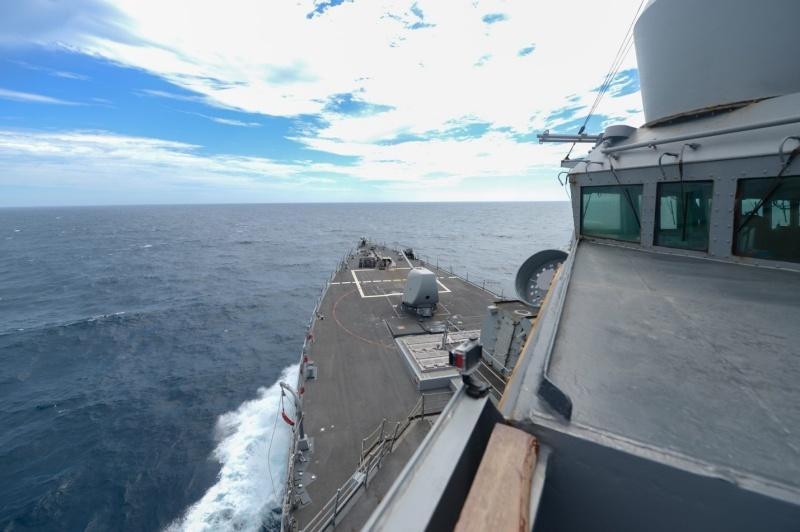 美艦六四31週年再行經台海 第七艦隊:依國際法執行任務