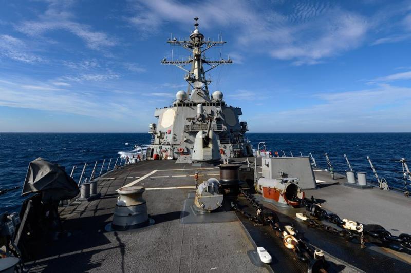 美軍艦六四通過台海 專家:美中不至於爆發衝突