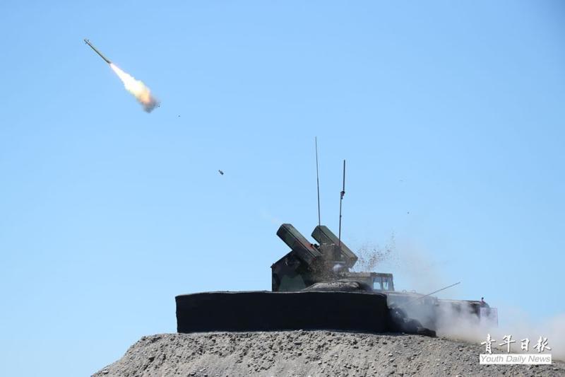 軍武/國軍神弓操演 刺針飛彈10秒追瞄擊落目標