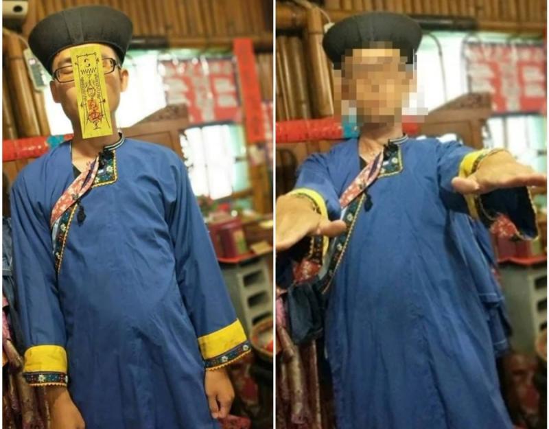 他體驗客家服飾!穿完「神似港星」 全場笑歪:臉的問題