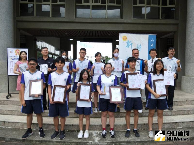 影/溪湖高中第17屆中台灣聯合文學獎大贏家