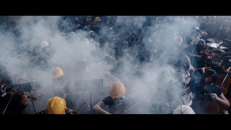 ▲《願榮光歸香港》MV畫面。(圖/公視)