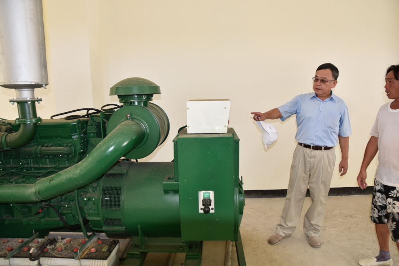 落實小離島水電管理 賴峰偉要求明年底台電全面接管