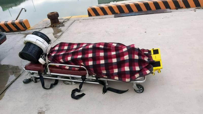 澎西衛海域發現一大體 疑為潮間帶採捕民眾落海