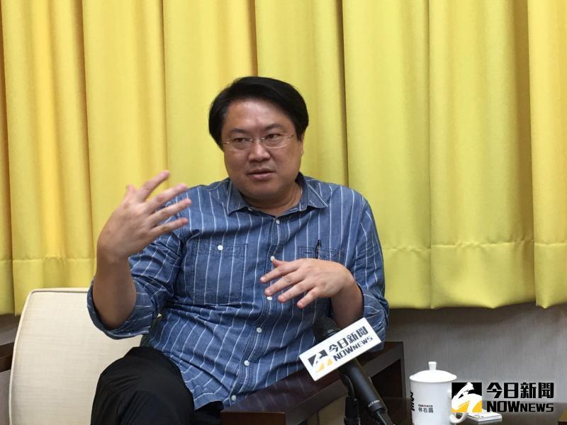 ▲基隆市長林右昌認為,這是民主體制的勝利,也讓台灣民主更加成熟!(圖/記者陳志仁攝影)