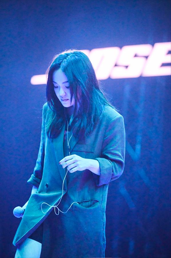 ▲徐佳瑩首次挑戰無觀眾的線上演唱會。(圖/