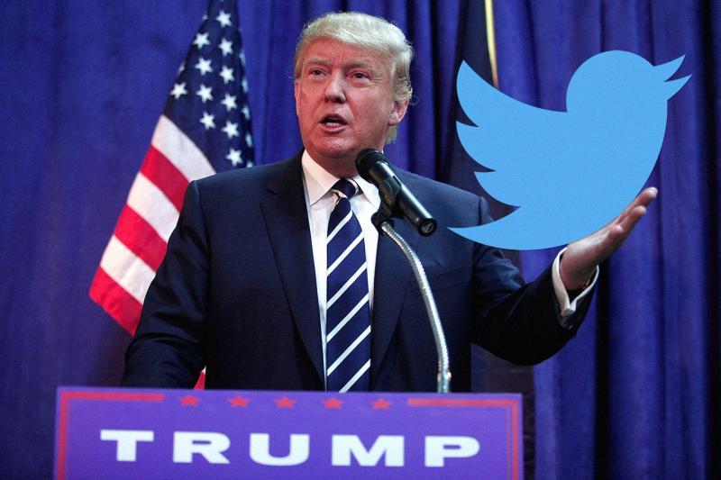 ▲美國總統川普平時熱愛用推特發表對時事的見解、政策的制定,被稱為是「推特治國」。(圖/翻攝自推特)