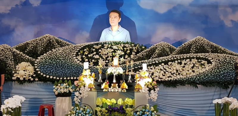 ▲吳朋奉今(7)日舉辦告別式。(圖 / 金熙國際提供)