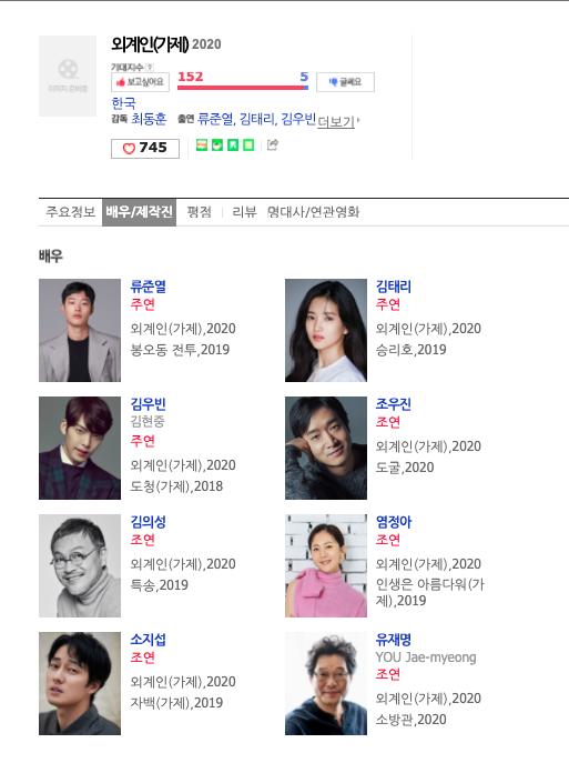 ▲金宇彬將跟多位大咖拍攝電影《外星人》,備受期待。(圖/Naver電影)