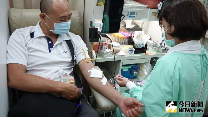 ▲捐血是救人一命的高尚品行,在助人為樂、與人為善的同時,也使自己的心靈得到慰藉。(圖/記者陳雅芳攝,2020.06.08)
