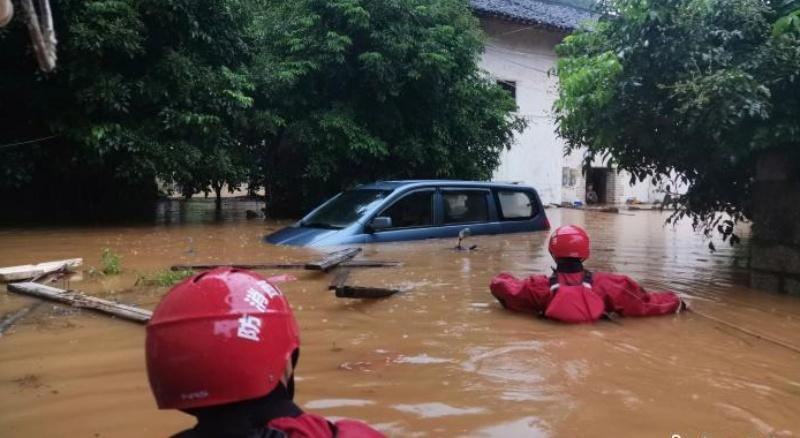 中國<b>南方</b>暴雨遇最強時段 一江三湖防汛形勢嚴峻