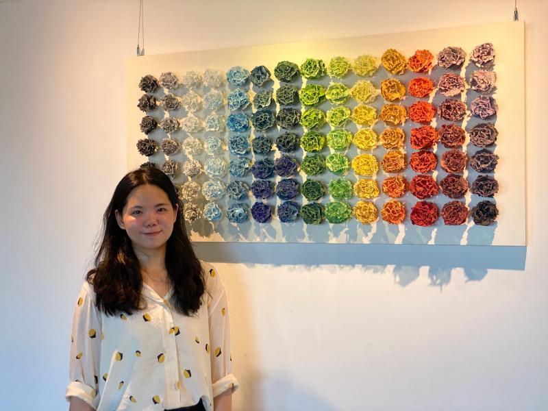 翻轉學習障礙的創作家 梁紫祺發表全新琺瑯技術