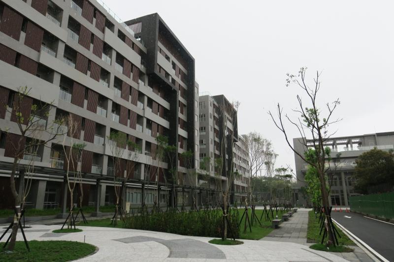 ▲新建宿舍外觀(圖/國訓中心提供)
