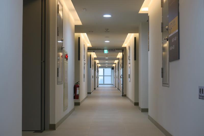 ▲國訓中心新宿舍走廊(圖/國訓中心提供)