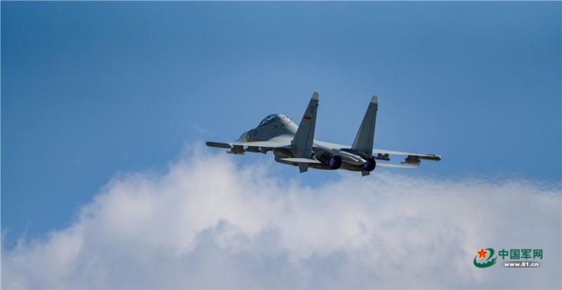 中國解放軍蘇愷30(Su-30)戰機