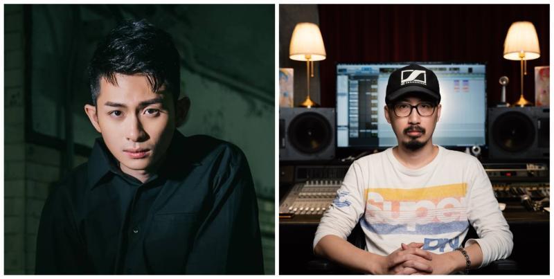 ▲博恩(左圖)的歌曲《TAIWAN》,遭指控侵權,《CHINA》混音師Mori在臉書發文開嗆。(圖/翻攝博恩、Mori臉書)