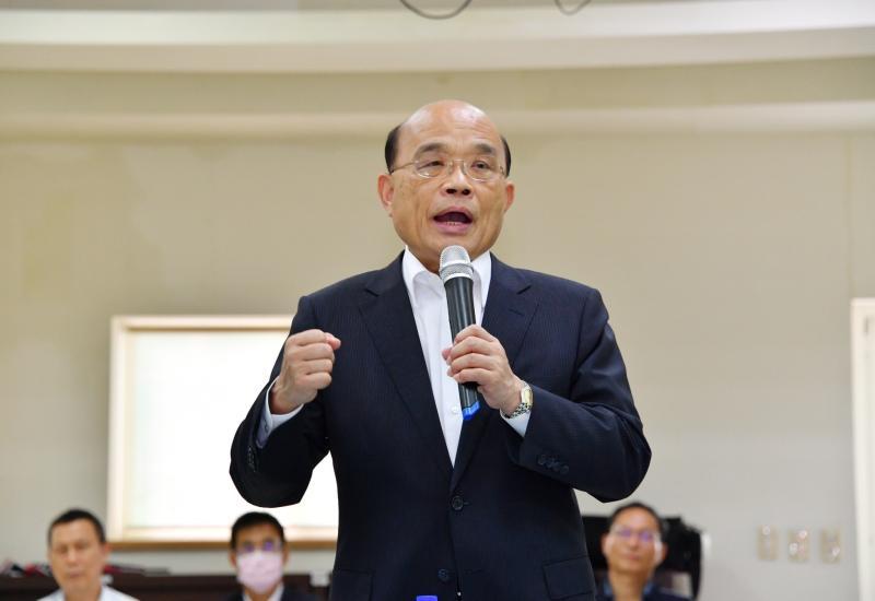 2025非核家園 蘇貞昌:<b>能源轉型</b>漸漸看到成績
