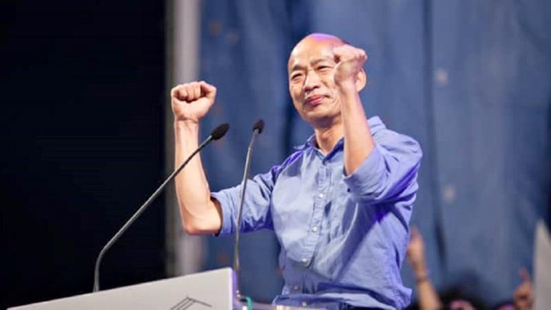 高雄市長韓國瑜被罷免成功。(圖/ NOWnews 資料照)