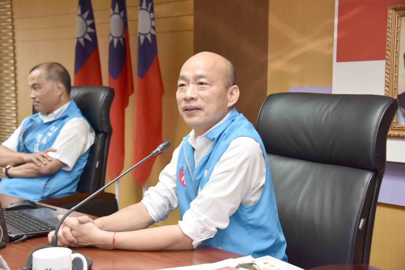 ▲高雄市長韓國瑜。(圖/高市府提供)