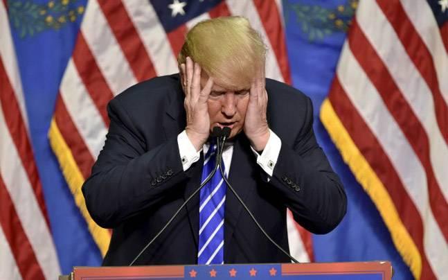 ▲美國總統川普民調落後。(圖/翻攝自
