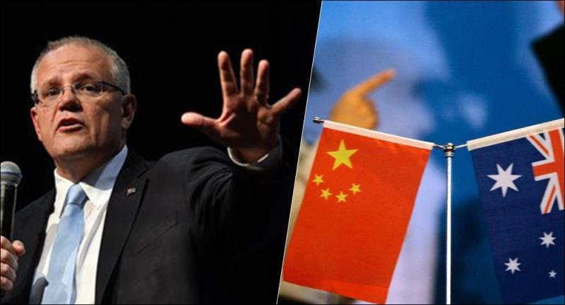 趙立堅假圖事件 澳洲總理上微信批評遭封鎖
