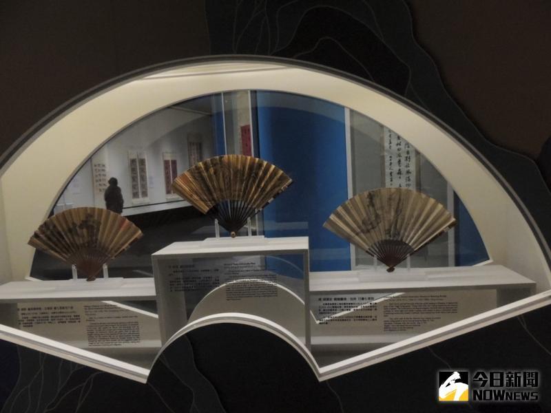 ▲故宮南院書畫特別展廳卷軸可完整展開,成為「翰墨空間-故宮書畫賞析」特展亮點。(圖/記者任禮清攝,2020.06.10)