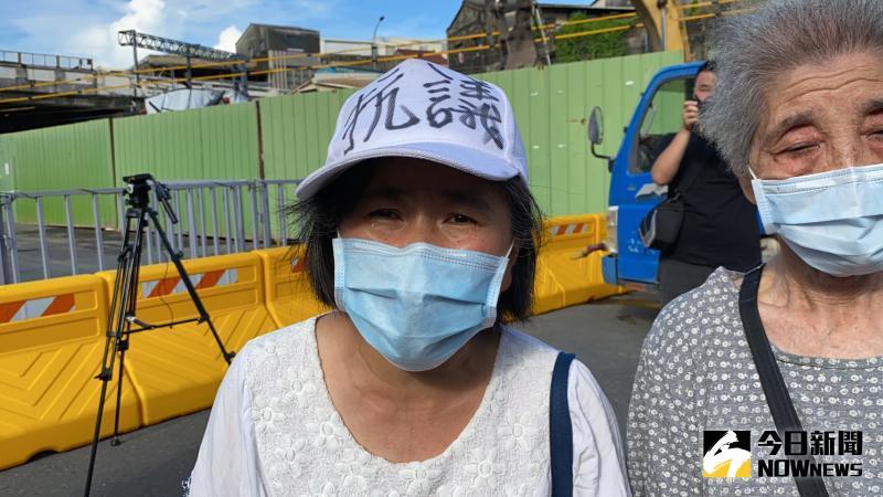 ▲張太太聲淚俱下表示,很難過,對台灣的司法及相關制度沒信心。(圖/記者陳聖璋攝,2020.06.11)