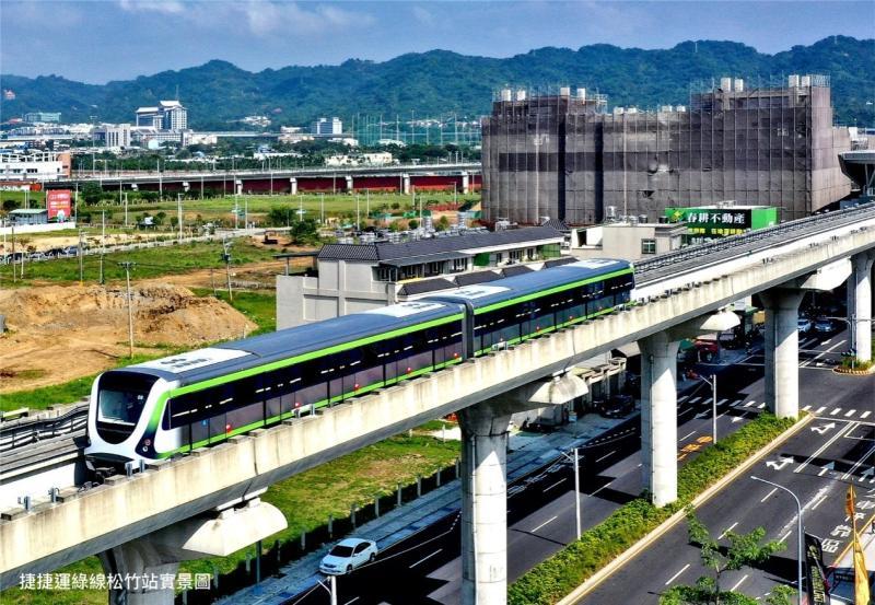 ▲2020最大交通利多在於台中捷運綠線即將通車,沿線房市醞釀一波高峰。(圖/公關照片)