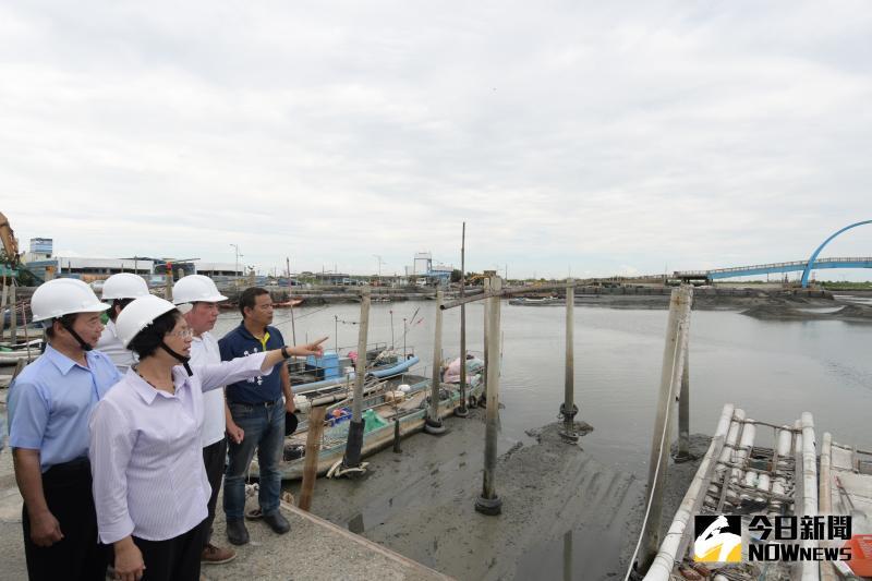 影/「積」不得!彰縣加速<b>王功漁港</b>環境營造及清淤工程