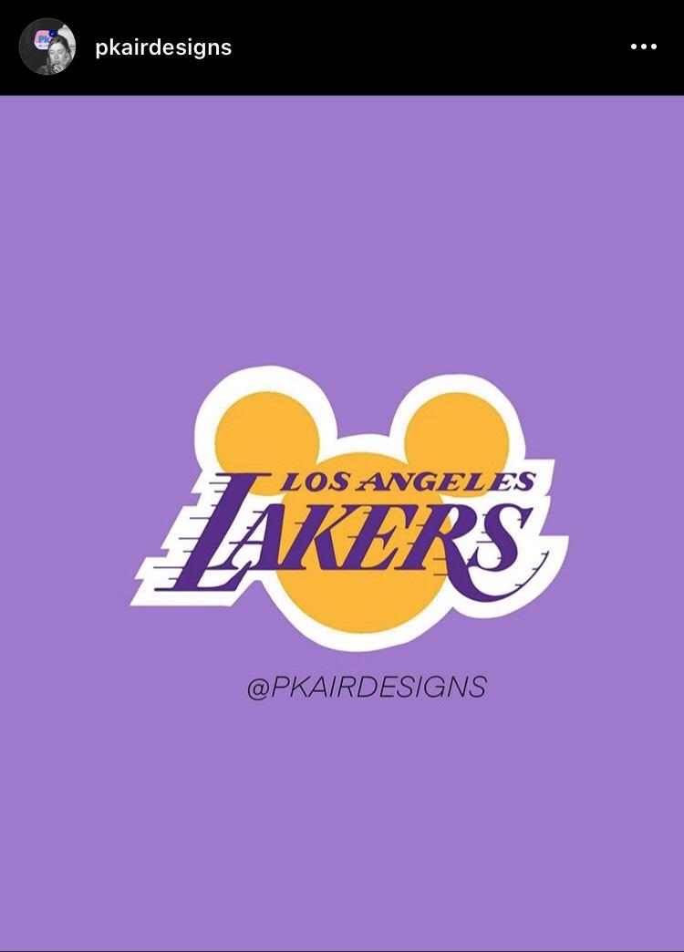 網友 pkairdesigns 將各隊Logo改編為迪士尼版本(圖/取至 Instagram)