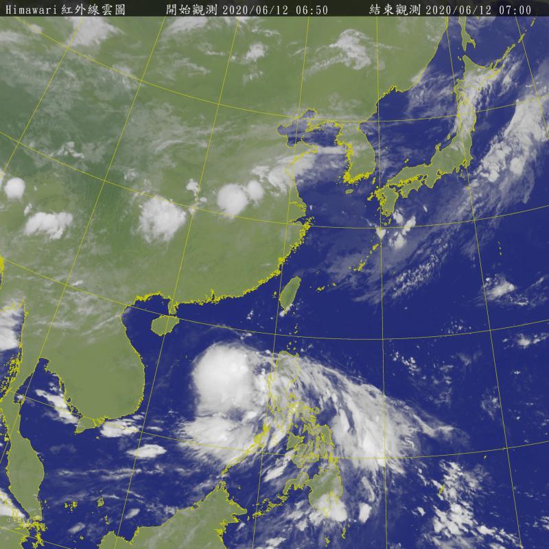 鸚鵡颱風最快今晚生成!「2雨區」曝光 大雨將連炸4日