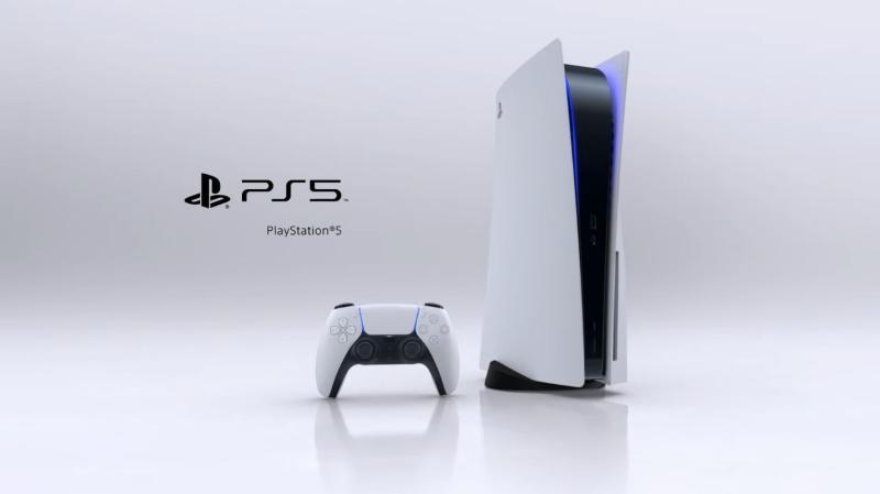 ▲Sony今(12)日正式公開PS5主機外觀。