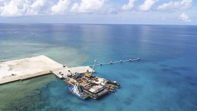 菲國防長登爭議島嶼宣示主權!竟收簡訊:歡迎來中國