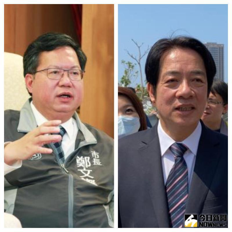 ▲桃園市長鄭文燦接受《NOWnews》專訪時強調,他跟副總統賴清德是長期的朋友,也是永久的兄弟,所以不會有任何威脅的問題。(圖/Nownews製圖)