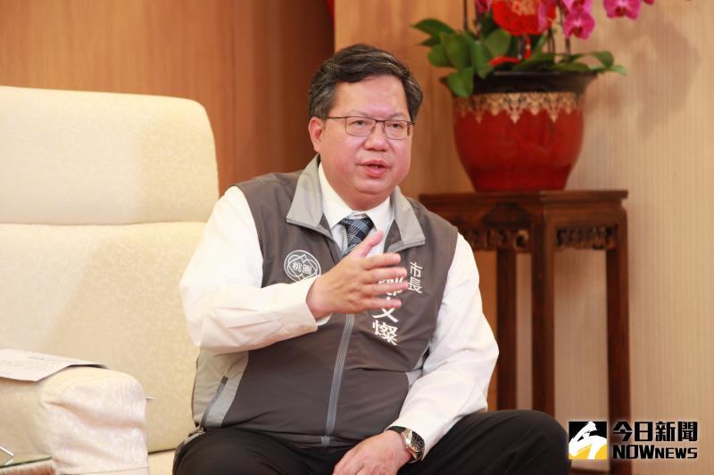 ▲鄭文燦確信「台灣可以少一位工程師,但可以多一位社會的改革者。」(圖/記者李春台攝影)