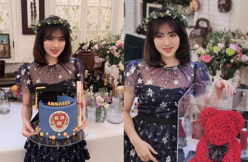 ▲華為小公主姚思為在社群網站上貼出自己歡慶畢業的照片。(圖/翻攝自 Annabel Yao IG)