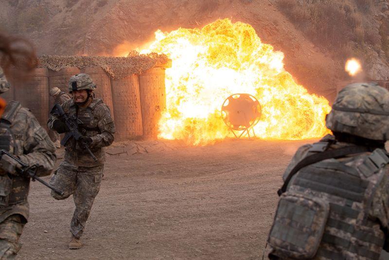 ▲《72小時前哨救援》講述反恐行動最慘烈犧牲的一役。(圖/海樂)